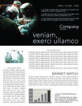 Medical: Major Surgery Newsletter Template #03979