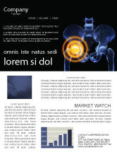 Medical: Joint Ache Newsletter Template #04040