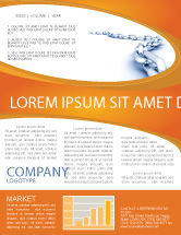 Business Concepts: Chain Newsletter Template #04056