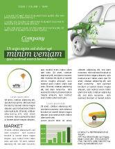 Nature & Environment: Biogas Newsletter Template #04080