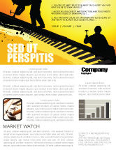 Careers/Industry: Roof Workers Newsletter Template #04101
