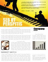 Careers/Industry: Modello Newsletter - Lavoratori tetto #04101