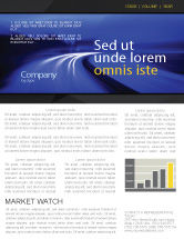 Consulting: Blue Twilight Movement Newsletter Template #04102
