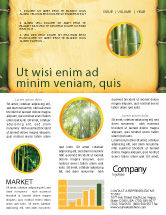Abstract/Textures: Bamboo Theme Newsletter Template #04107