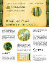 Abstract/Textures: Bambus thema Newsletter Vorlage #04107