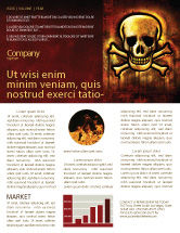 Military: Pirate Sign Newsletter Template #04124
