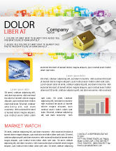 Careers/Industry: Private House Newsletter Template #04214