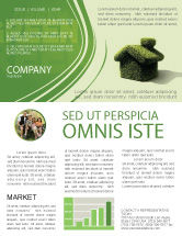 Nature & Environment: Green House Newsletter Template #04215