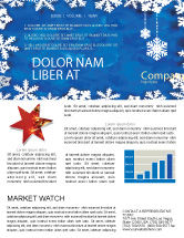 Holiday/Special Occasion: Winter Theme Newsletter Template #04220