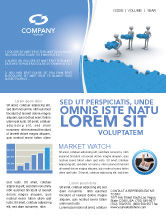 Consulting: Offshore Development Newsletter Template #04271