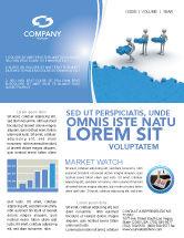 Consulting: Offshore-entwicklung Newsletter Vorlage #04271