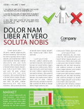 Education & Training: Modèle de Newsletter de dilemme #04272