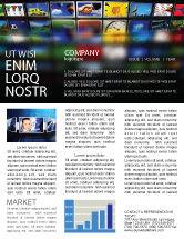 Art & Entertainment: Image Stock Newsletter Template #04306