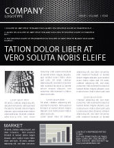 Abstract/Textures: Black Grid Newsletter Template #04358