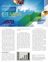 Business: City Scenery Newsletter Template #04370