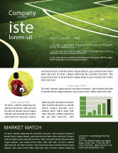 Sports: Football Duel Newsletter Template #04410