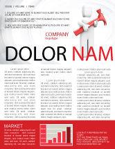 Utilities/Industrial: Hammer Man Newsletter Template #04496