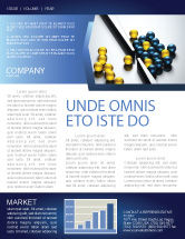 Business Concepts: Filtering Newsletter Template #04499