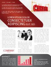 Careers/Industry: Career Building Newsletter Template #04528