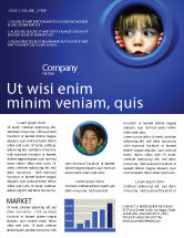 People: Kid Looking In Porthole Newsletter Template #04566