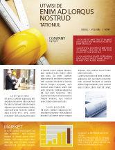Construction: Foreman Newsletter Template #04611