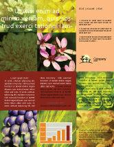 Nature & Environment: Floristic Newsletter Template #04648