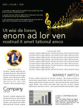 Art & Entertainment: Modern Music Newsletter Template #04739