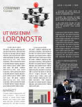 Business Concepts: Performance Management Newsletter Template #04761