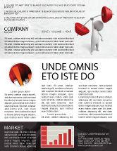 Business Concepts: Templat Buletin Kekuatan #04770