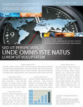 Global: 뉴스레터 템플릿 - 세계 시계 #04781