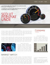 Cars/Transportation: Speedo Newsletter Template #04804