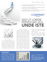 Careers/Industry: Stairway To Exit Newsletter Template #04849