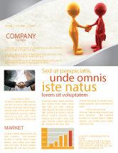 Business: Modèle de Newsletter de salutation #04867