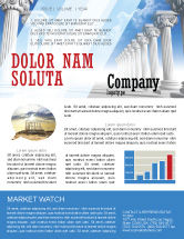Careers/Industry: Ionic Columns Newsletter Template #04887