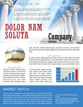 Careers/Industry: Modelo de Newsletter - colunas iónicas #04887