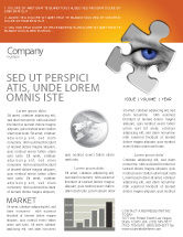 Consulting: Eye Newsletter Template #04894