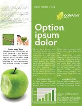 Education & Training: Apple Bite Newsletter Template #04900