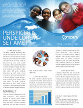 Education & Training: Cultural Diversity Newsletter Template #04914