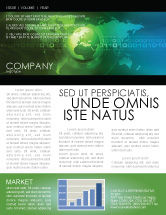 Global: Web Over The Earth Newsletter Template #04970