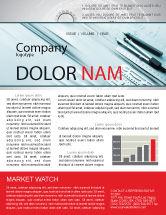 Careers/Industry: Working Drawings Newsletter Template #04971