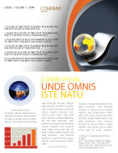 Abstract/Textures: International Newsletter Template #05066