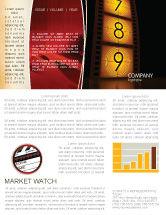 Careers/Industry: Cinema Strip Newsletter Template #05073