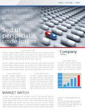Medical: Pharmacological Solution Newsletter Template #05100