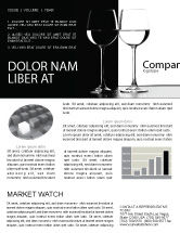 Careers/Industry: Black and White Newsletter Template #05226