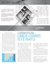 Construction: Home Remodeling Plan Newsletter Template #05239