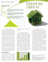 Careers/Industry: House of Flowers and Herbs Newsletter Template #05268