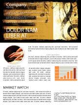 Careers/Industry: 高音でピアノのキーボード - ニュースレターテンプレート #05289