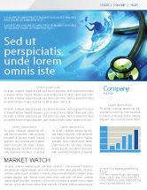 Global: Medical World Newsletter Template #05318