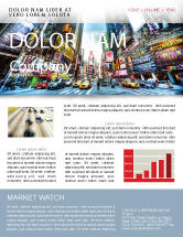 Construction: Times Square Newsletter Template #05456