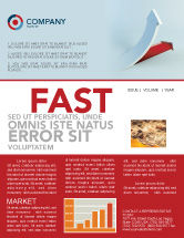 Business Concepts: Crisis Overcome Newsletter Template #05460